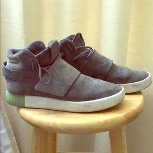 Adidas high cut grey